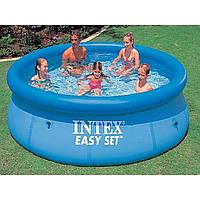 Надувной бассейн, бассейн большой надувной Intex 28110 Easy Set Pool, 244
