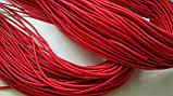 Шнурок-резинка круглый Luxyart диаметр 2 мм, красный, 100 метров (Р2-103), фото 2