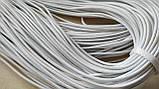 Шнурок-резинка круглый Luxyart диаметр 2 мм, белый, 100 метров (Р2-103), фото 2
