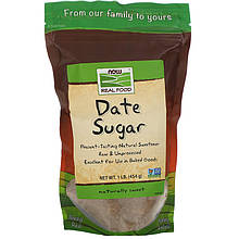 "Финиковый сахар NOW Foods, Real Food ""Date Sugar"" (454 г)"