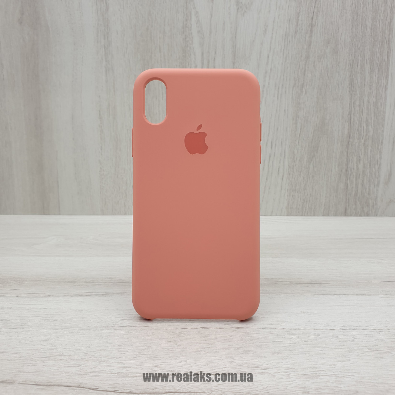 Чехол Silicone Case для Apple iPhone X / Xs flamingo