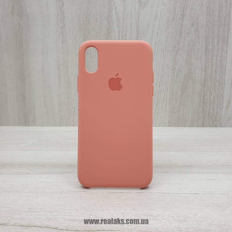 Чохол Silicone Case для Apple iPhone X / Xs flamingo, фото 2