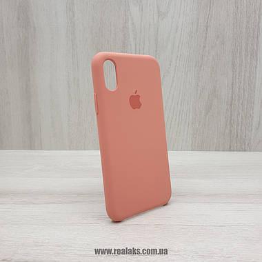 Чехол Silicone Case для Apple iPhone X / Xs flamingo, фото 2