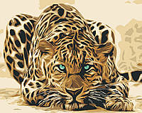 Живопись по номерам Леопард 0005Т1 Bambino 40 х 50 см (без коробки)