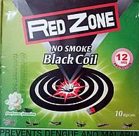 Спирали от комаров Red Zone без дыма 10 шт., фото 1