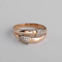 Кольцо золотое с фианитом KП1711