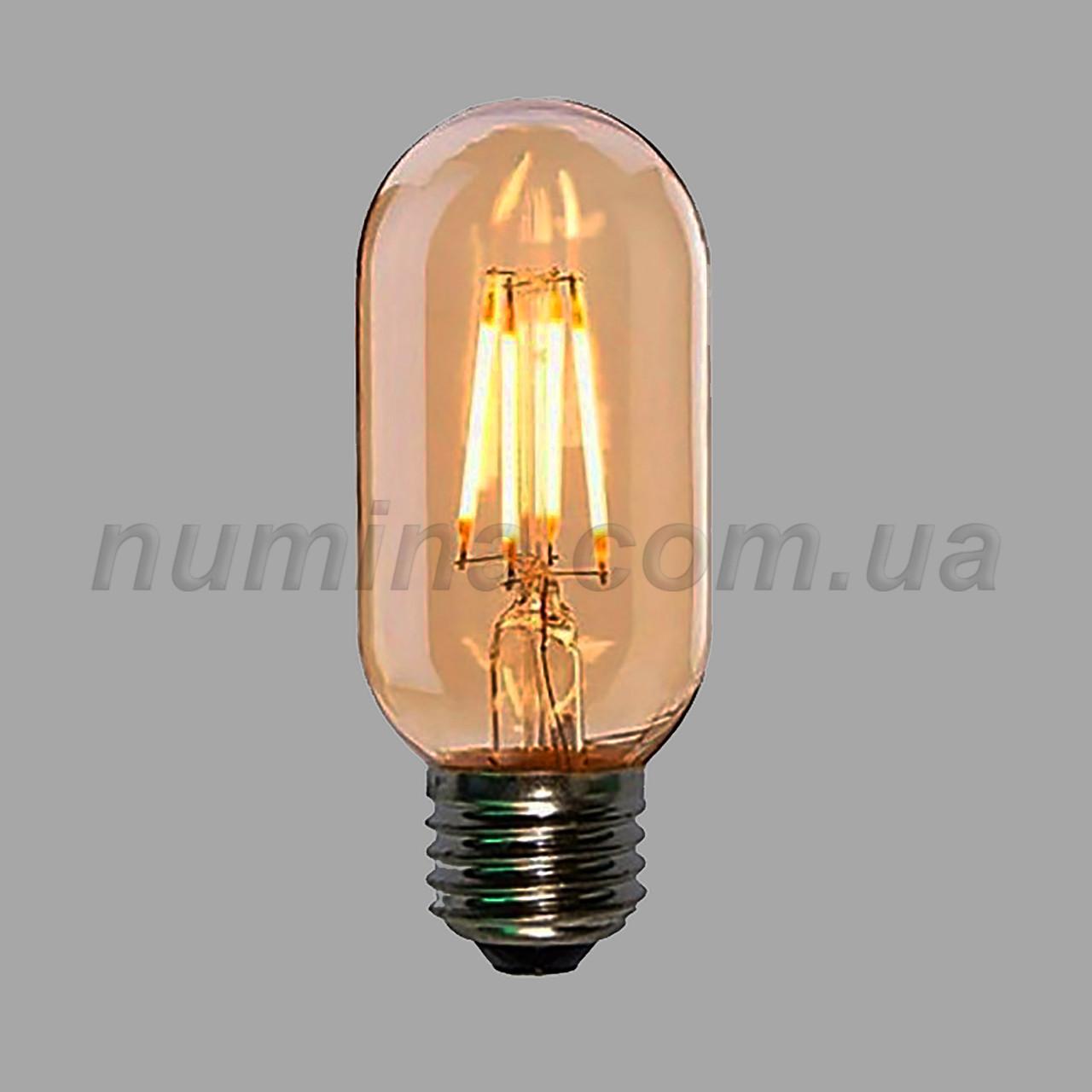 Лампочка LED - YS-T45 Amber 6W 2700K