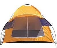 ⭐⭐⭐⭐⭐ Топ! Палатка одноместная туристическая, удобная, легкая, с чехлом 200см*100см*110см