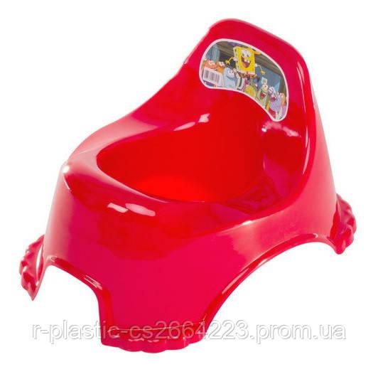 Горшок детский R-Plastic красный