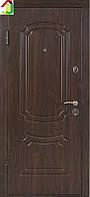 Дверь входная Министерство дверей металл/МДФ ПО-01 Орех коньячный, двери бронированные, для дома