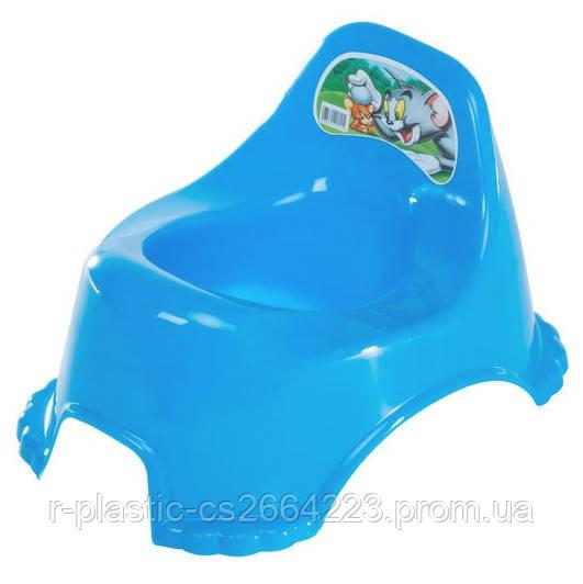 Горщик дитячий R-Plastic синій