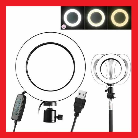 Светодиодная кольцевая лампа Ring Fill Light ZD666
