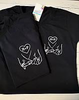 Парные футболки c Вашими инициалами!