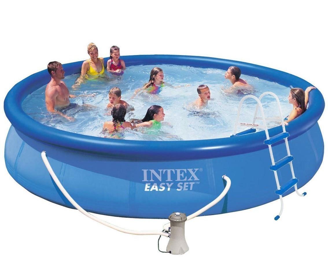 Надувной бассейн Intex 457х84 см  (28180)