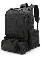 Рюкзак з підсумкими на 55 літрів RVL B08-чорний