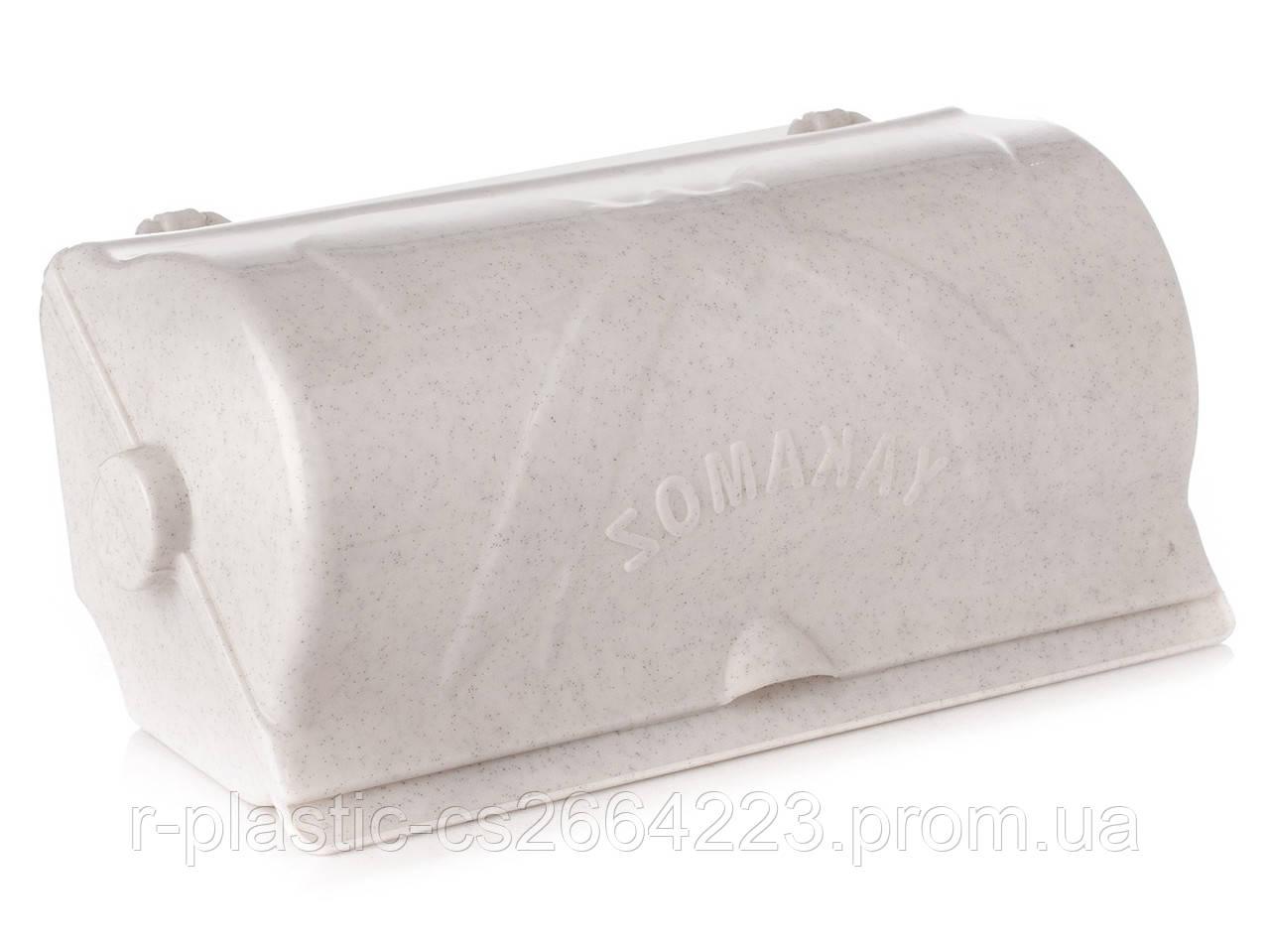 """Тримач для паперових рушників R-Plastic """"Бантик"""" білий флок"""