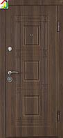 Дверь входная Министерство дверей металл/МДФ ПО-02 Орех белоцерковскийй, двери бронированные, для дома