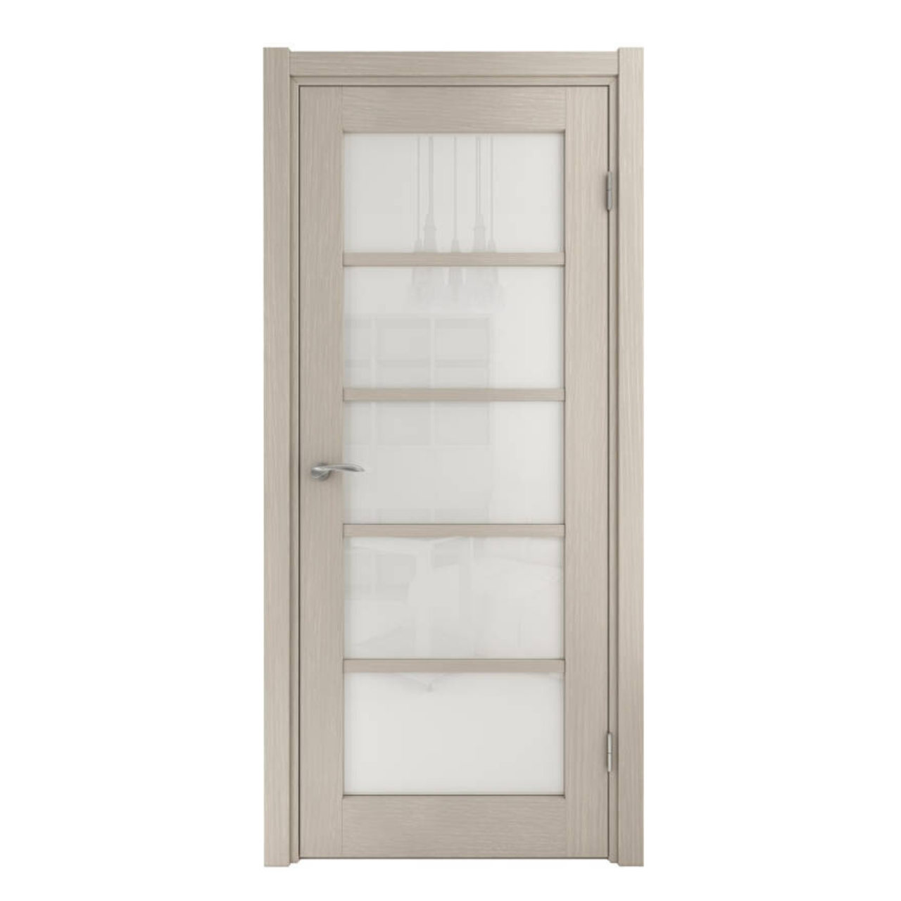Межкомнатная дверь шпон натуральный PRIMA бежевая  фабрики Grand Wood