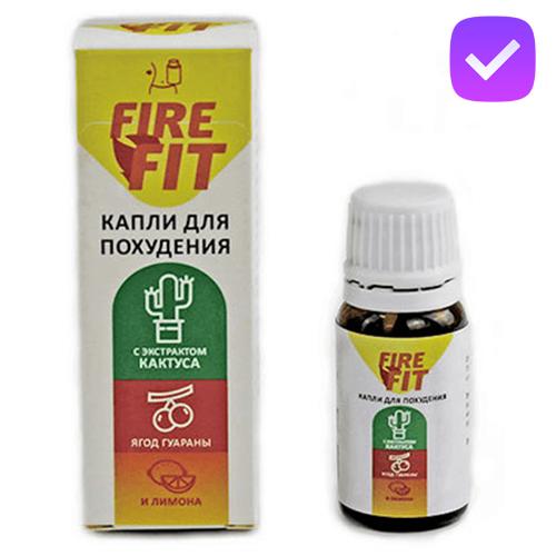 Fire Fit - краплі для схуднення