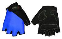 Перчатки для фитнеса женские ZEL BC-3787 (PVC, PL, р-р S,M)