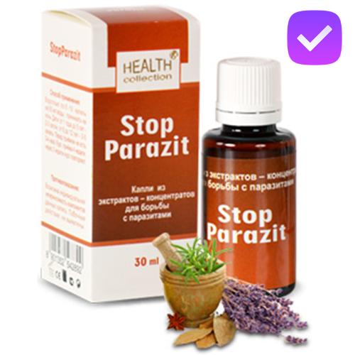 Stop Parazit - капли от паразитов и глистов