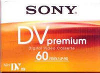 Кассета mini dv MiniDV Sony