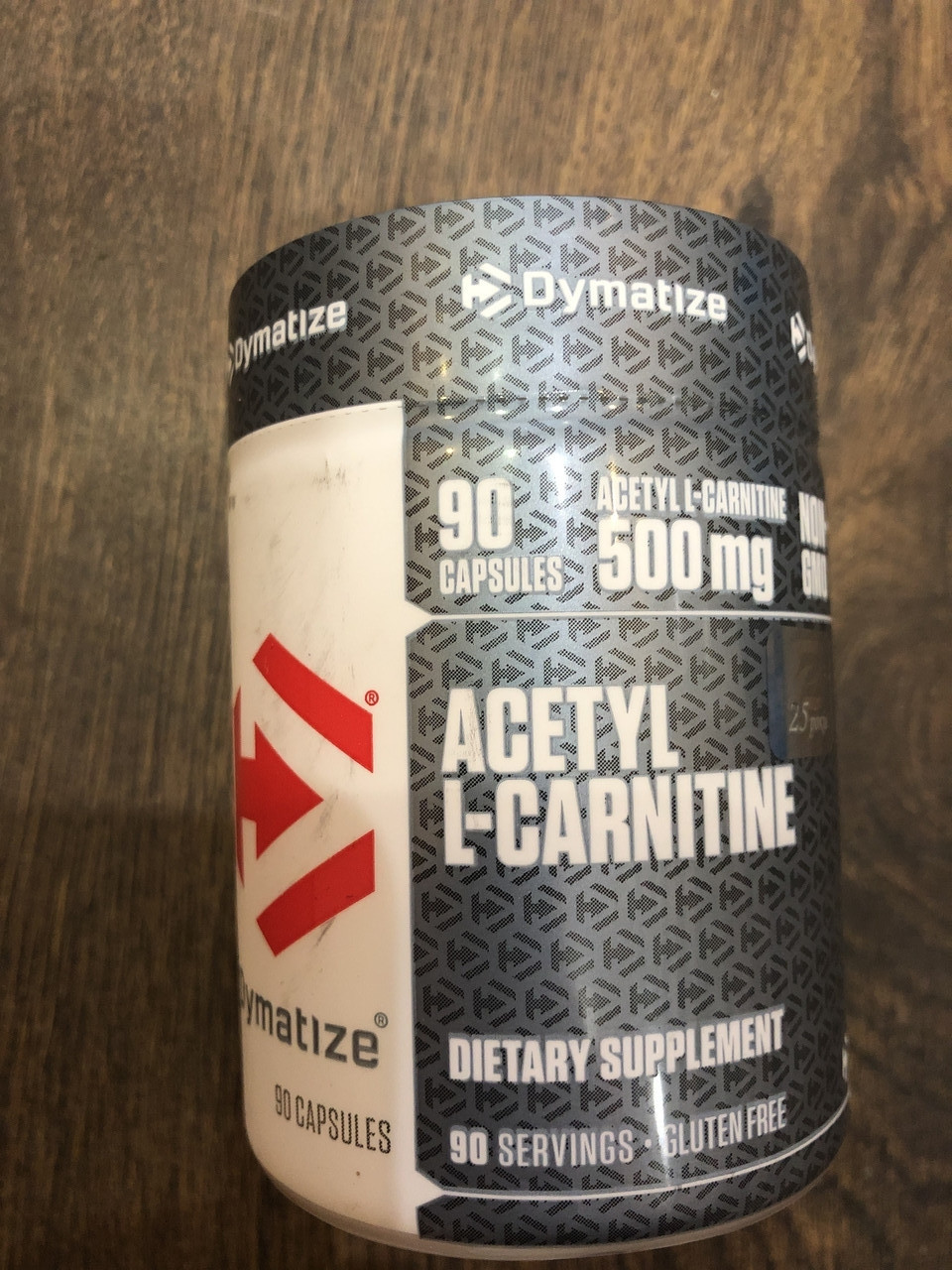 Ацетил l-карнітин, Dymatize Nutrition, Acetyl L-Carnitine, (500mg) caps 90