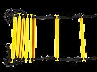 Координационная лестница, скоростная дорожка 12 ступеней 5 м, фото 1