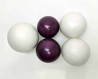 """Желатиновые шары """"Бело-сиреневые"""""""