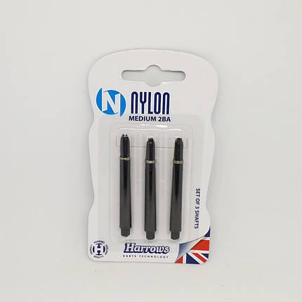 Набор хвостовиков для дротиков дартс Harrows Англия nylon 9 штук, фото 2
