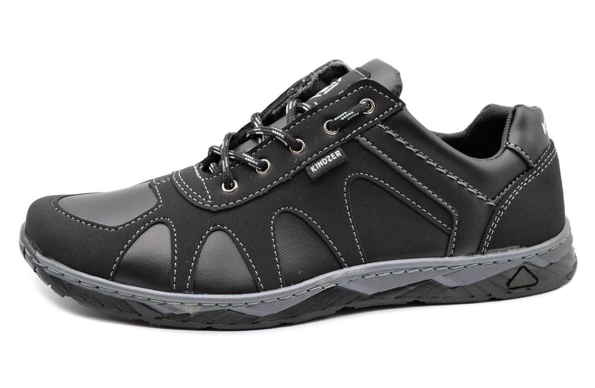 Кросівки чоловічі демісезонні стильні, чорні