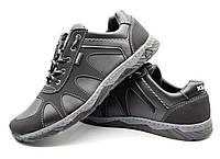 Кросівки чоловічі демісезонні стильні чорні 43 розмір