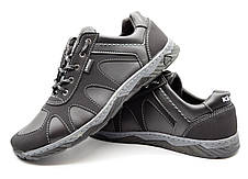 Кросівки чоловічі демісезонні стильні, чорні, фото 2