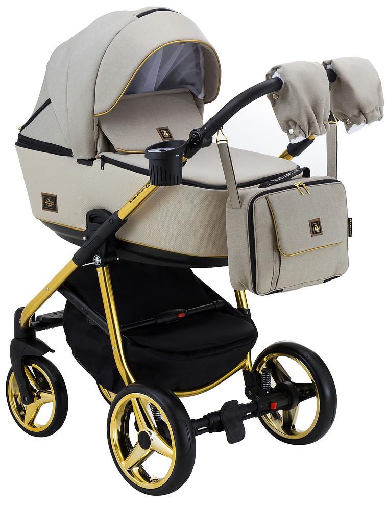 Детская универсальная коляска 2 в 1 Adamex Barcelona BR451