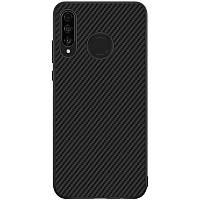 Nillkin Huawei P30 Lite/ Nova 4e Synthetic fiber Black Магнитный Чехол Накладка Бампер, фото 1