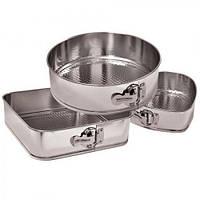 Формы для выпечки разъемные набор из 3 шт Stenson 702213 Steel