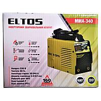 Сварочный аппарат Eltos MMA-340 (дисплей, антизалипание, горячий старт)
