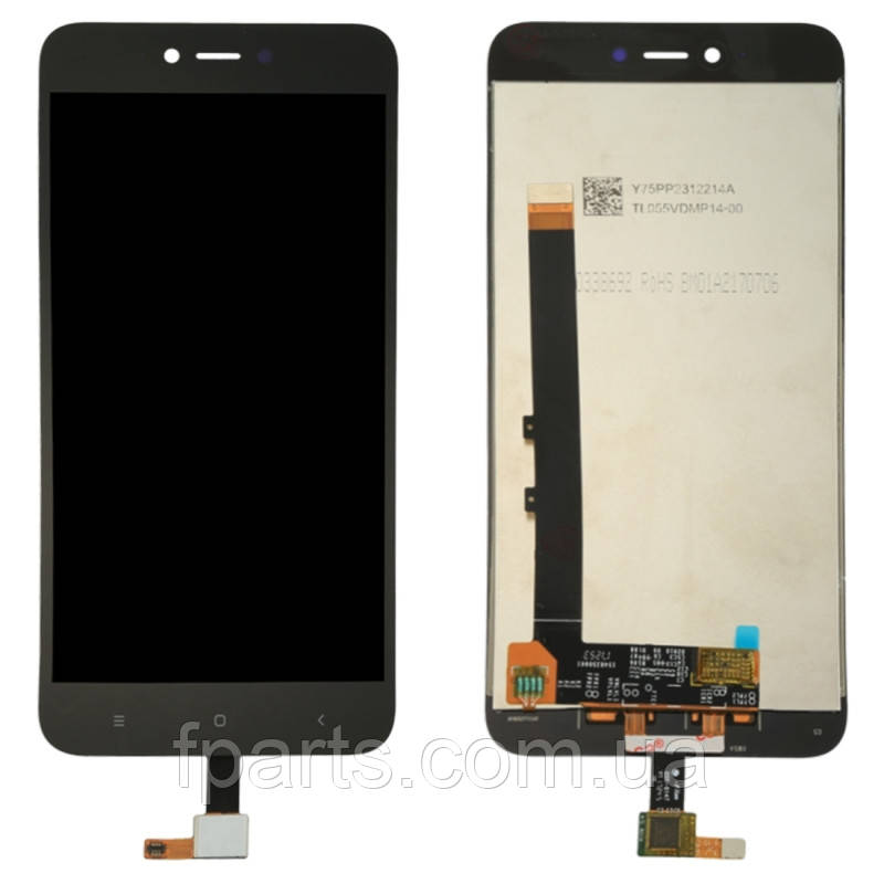 Дисплей для Xiaomi Redmi Note 5A (MDG6, MDE6, MDT6) с тачскрином, Black