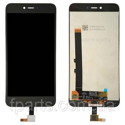 Дисплей для Xiaomi Redmi Note 5A (MDG6, MDE6, MDT6) с тачскрином, Black, фото 2
