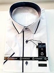 Рубашка с коротким рукавом Fiorenzo (метал.пугов.)