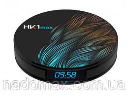 Стационарный многофунциональный HD медиаплеер-приставка с пультом ITM Smart TV Box HK1 MAX 4/64 PRO Черный