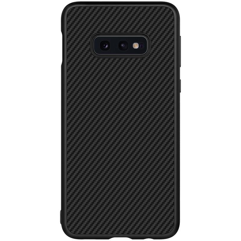 Nillkin Samsung G970F Galaxy S10e Synthetic fiber Black Чехол Накладка Бампер
