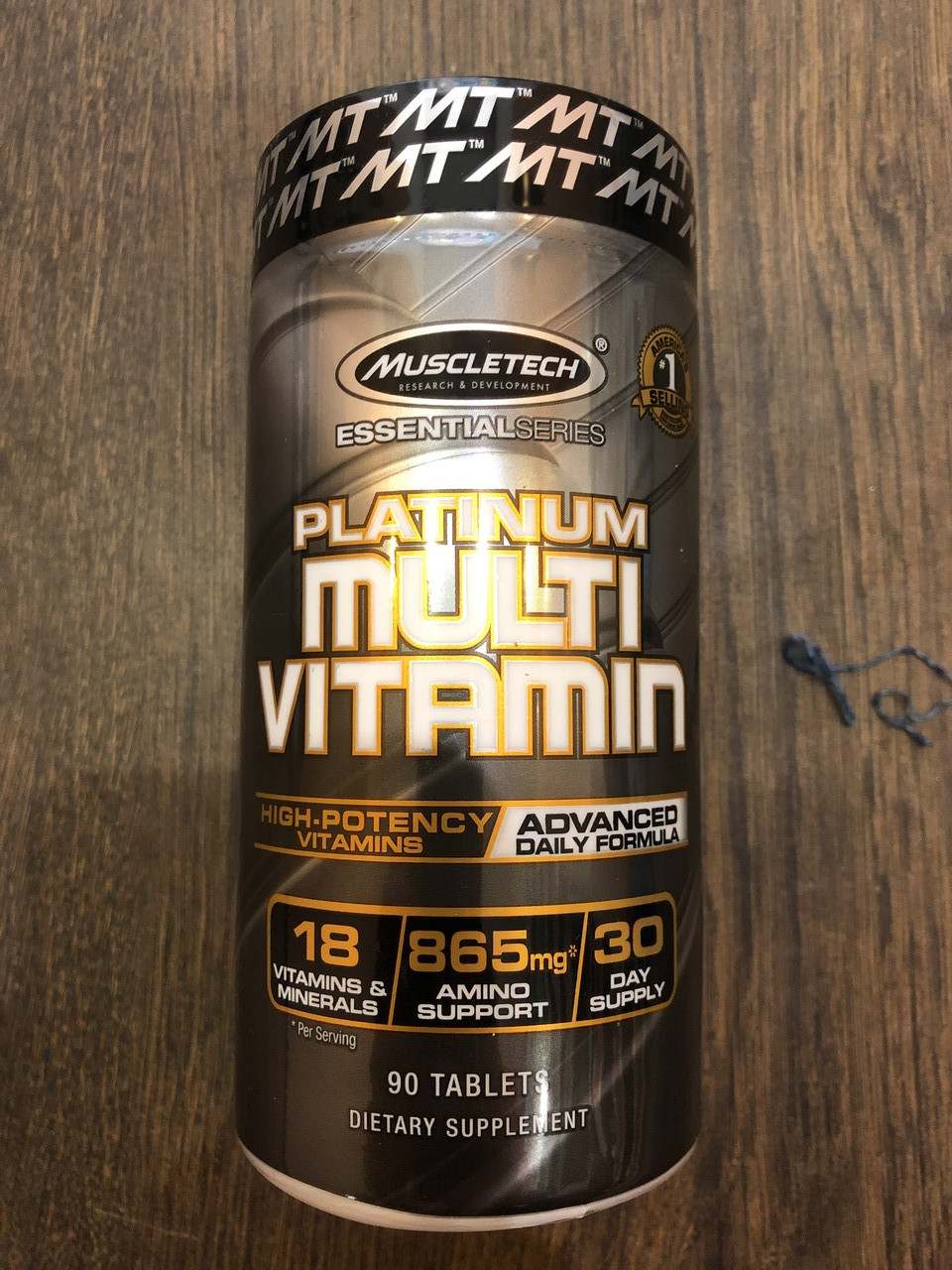 Вітаміни і мінерали, MuscleTech, Platinum Multi Vitamin, 90tabs