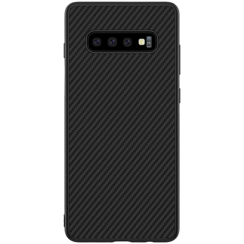 Nillkin Samsung G973F Galaxy S10 Synthetic fiber Black Чехол Накладка Бампер