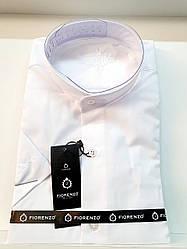 Рубашка с коротким рукавом Fiorenzo ворот-стойка