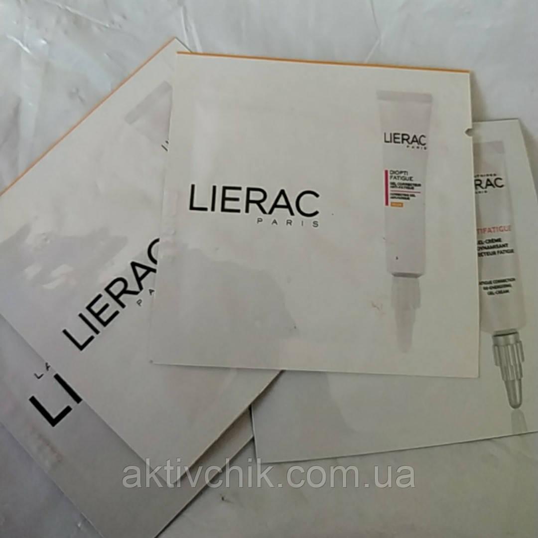 Лиерак Диоптифатиг Гель-крем тонизирующий от признаков усталости Lierac Dioptifatigue Gel-Crème Redynamis 1 m
