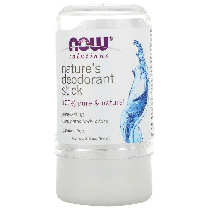 """Натуральный дезодорант-стик NOW Foods """"Nature's Deodorant Stick"""" длительного действия (99 г)"""