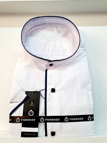 Сорочка з коротким рукавом Fiorenzo воріт-стійка, фото 2