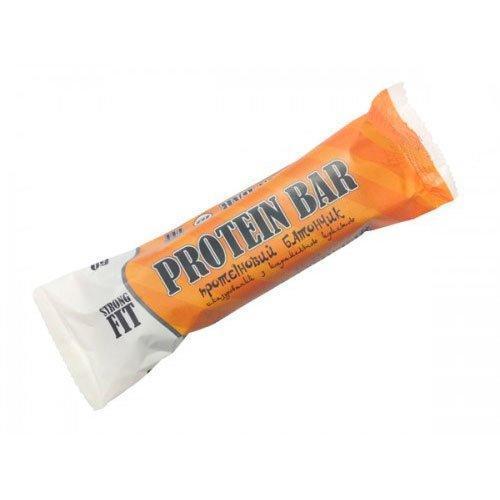 Протеиновый батончик Strongfit 32% карамель 60 г.