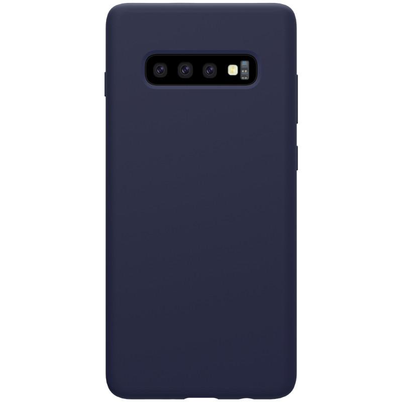 Nillkin Samsung G975F Galaxy S10+ Flex Pure Case Blue Силиконовый Чехол